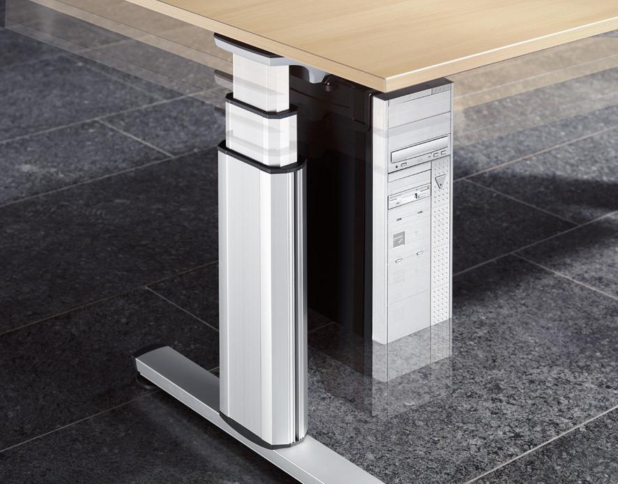 hohenverstellbarer schreibtisch berufsgenossenschaft. Black Bedroom Furniture Sets. Home Design Ideas